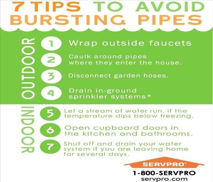 Water Damage Avoid a Busted Pipe in Frigid Temperatures